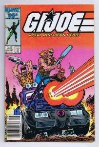 GI Joe #51 ORIGINAL Vintage 1986 Marvel Comics 1st Zandar Thunder Thrasher