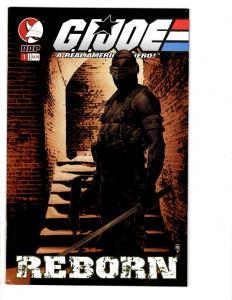 3 GI Joe DDP Comic Books # 39 Reborn # 1 Master Apprentice 2 # 1 Cobra MS7