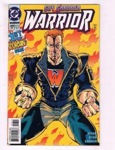 Guy Gardner Warrior #17 VF DC Comic Book Dixon 1994 DE10
