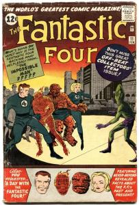 Fantastic Four #11 1963- 1st Impossible Man- Kirby-VG