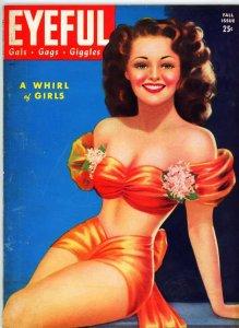 Eyeful Magazine Fall 1944 VG Billy Devorss Cover Pin-ups Gals Models Actresses