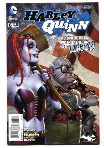 HARLEY QUINN #6 2014--DC-BATMAN-NICE COVER NM-
