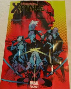 UNCANNY X-FORCE Promo Poster, 24 x 36, 2012, MARVEL Unused more in our store 140