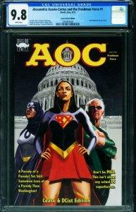 Alexandria Ocasio-Cortez & Freshman Force #1 CGC 9.8 Cease and dcist 2050855003