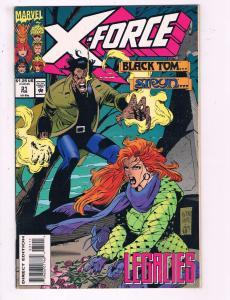 X-Force #31 VF Marvel Comics Comic Book Black Tom 1994 DE16