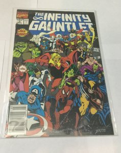 Infinity Gauntlet 3 Nm Near Mint Newsstand Edition Marvel Comics