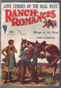 Ranch Romances 5/10/1929-Wings of The West-Victor Rousseau-FN
