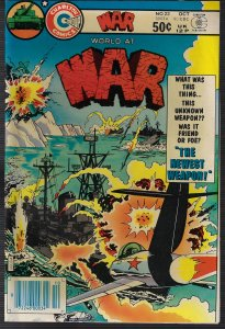 War #23 (Charlton, 1980) NM