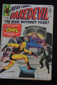 Daredevil #3, The Owl Overlord of Crime