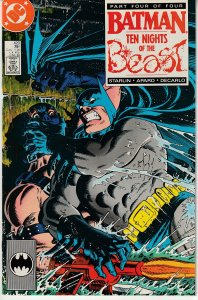 Batman(vol. 1) # 420 Ten Nights of the Beast
