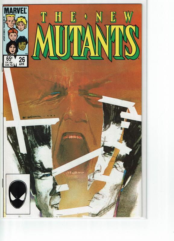 New Mutants #26, 1st Full Appearance Legion, 9.0 or better!