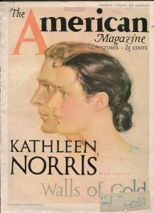 AMERICAN MAGAZINE 8/1932-DASHIELL HAMMETT-HARD BOILED PULP-RARE ISSUE-good minus