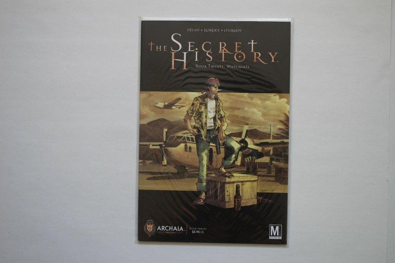 The Secret History 1 - 9, 11 - 20 Set Archaia Studios 2007 Comic Book Series NM