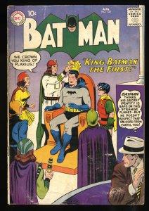 Batman #125 VG- 3.5 Qualified Read Description!