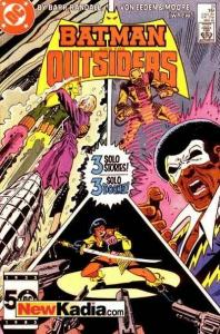 Batman and the Outsiders (1983 series) #21, VF (Stock photo)