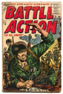 Battle Action #19 1955- Red Ambush G/VG