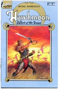 HAWKMOON 1 2 3 4, 3 different series, 12 issues in all, VF, Michael Moorcock