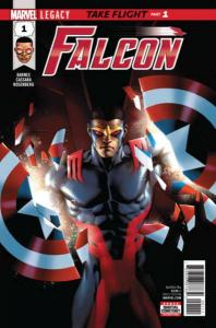 Falcon (2017 series) #1, NM + (Stock photo)