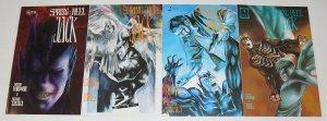 Spring-Heel Jack #1-4 VF/NM complete series - rebel studios - comics set 2 3 lot