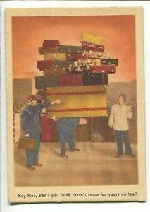 Three Stooges Trading Card #6 1959-Fleer