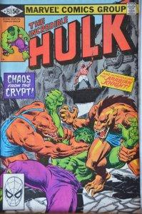 The Incredible Hulk #257 (1981)