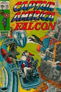 Captain America #141 (ungraded) stock photo / SMC