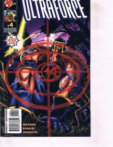 Lot Of 2 Malibu Comic Books Ultraforce #4 and Rune Silver Surfer #1 BH50