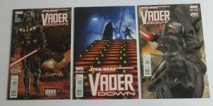 Star Wars Vader Down #1 Regular issue + #1 Zdarsky Jaxxon & Mann Variant VF/NM
