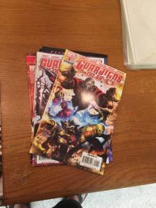 Guardians Of The Galaxy 1-8 10-14 All Vf/Nm 2008