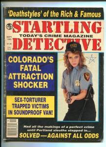 STARTLING DETECTIVE-09/1992-ROTTEN LAWMAN-PORSCHE-SOUNDPROOF VAN-SHOCKER G