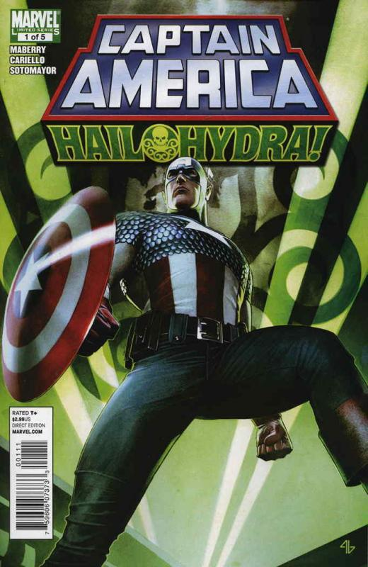 Captain America: Hail Hydra #1 FN; Marvel | save on shipping - details inside