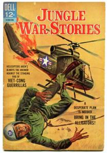 Jungle War Stories #11 1965-Helicopter cover- Final issue VG
