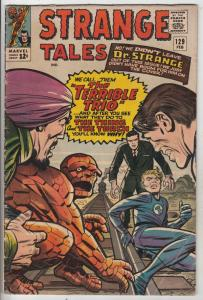 Strange Tales #129 (Feb-65) VG/FN Mid-Grade Human Torch, the Thing, Doctor St...