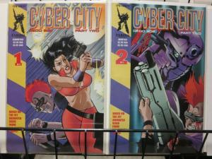 CYBER CITY PART TWO (1995 CPM) 1-2 Complete