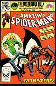 AMAZING SPIDER-MAN #235-1982-MARVEL VF