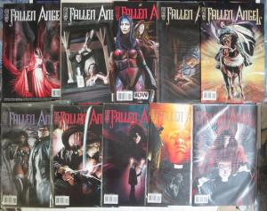 Fallen Angel (IDW 2005) #1-32 Lot of 26Diff Peter David JK Woodward Moloch Rises