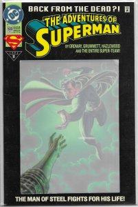 Adventures of Superman   vol. 1   #500 (del.) FN (Reign of the Supermen)