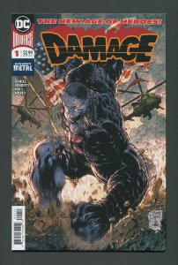 Damage #1 (1st Print) / 9.4 NM  March 2018