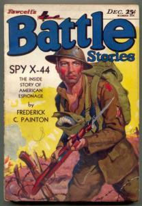 Battle Stories Pulp December 1930- SPY X-44 - incomplete