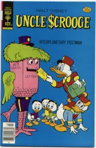 Uncle Scrooge #154 NM 9.4  (Gold  Key, 1978) ORIGINAL OWNER - UNREAD!