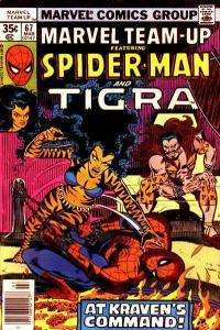 Marvel Team-Up (1972 series) #67, Fine- (Stock photo)