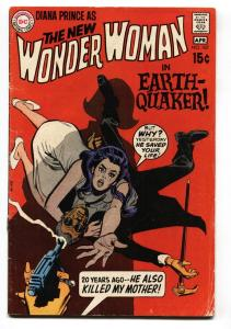 WONDER WOMAN #187 comic book 1970-no costume-DC SILVER AGE