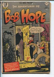 BOB HOPE #9 1951-DC-WACKY HUMOR-HORROR-RARE-good+