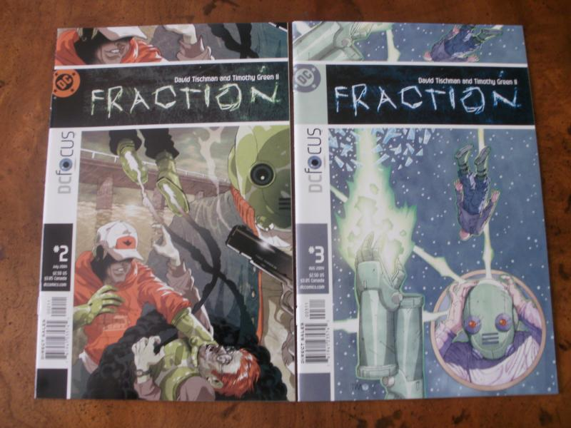 Fraction #2 #3 (DC) 2004 Tischman Green