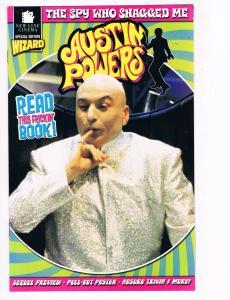 Austin Powers Spy Who Shagged Me NM New Line Cinema Wizard Comics Dr. Evil B98