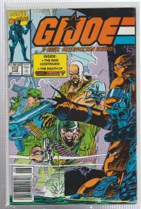 G.I. JOE A REAL AMERICAN HERO #113, BAGGED & BOARDED, MARVEL COMICS