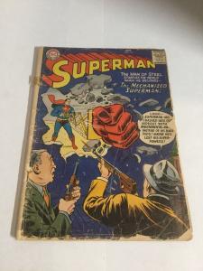 Superman 116 Gd- Good- 1.8 Top Staple Detached DC Comics Silver Age