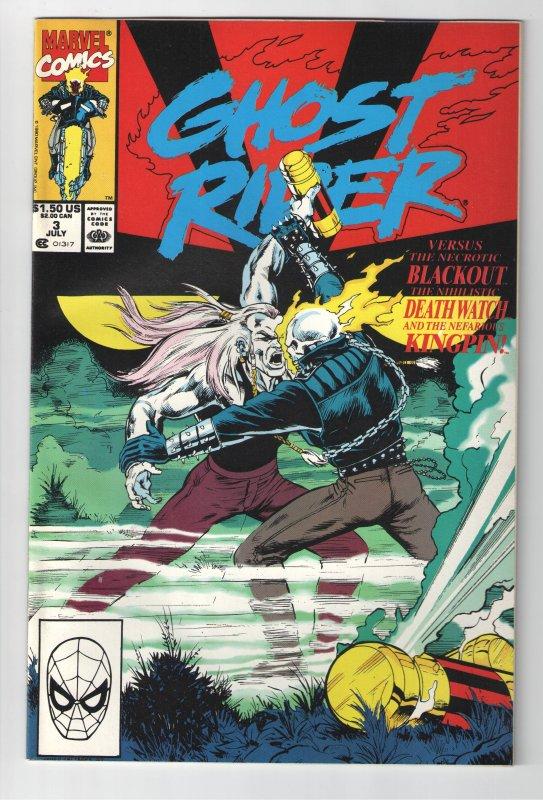 GHOST RIDER(1990) #3 UNREAD NM;.MIDNIGHT SUNS-FILM COMING!??