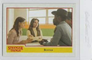 Stranger Things Busted 55 Topps Netflix 2018 Season One trading card