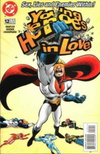 Young Heroes in Love #12 VF; DC   save on shipping - details inside